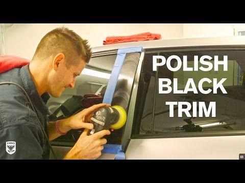 AmmoNYC: How to Polish Black Trim #autodetailing #detailing #mobiledetailing #cardetailing #cars