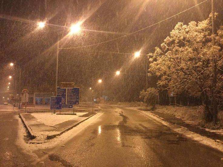 10/01/2017. Ο δρόμος Λευκάδα – Λαζαράτα.