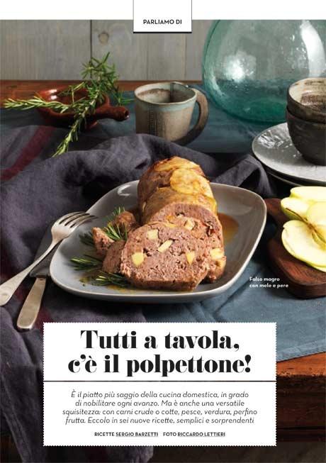 La Cucina Italiana - Anteprima ottobre il polpettone