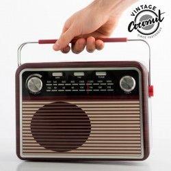 CAJA RADIO VINTAGE COCONUT
