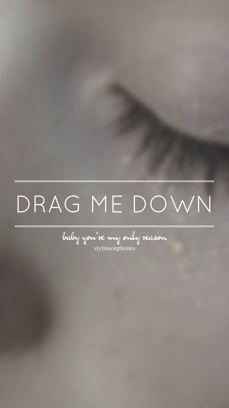 Drag Me Down // One Direction // ctto: @stylinsonphones (on Twitter)