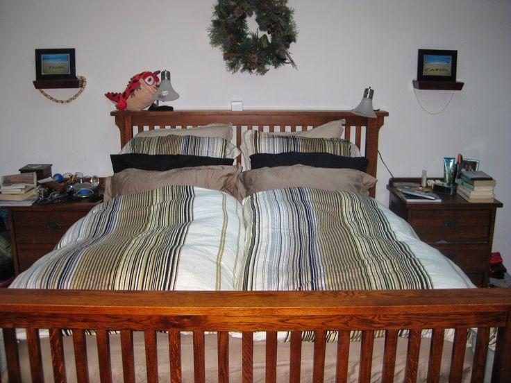 Northwest Ladybug:....beds with German Daunendecke