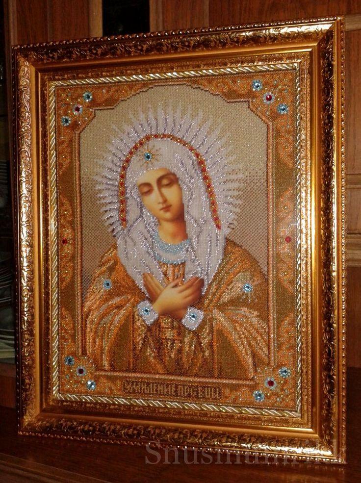 """Икона Богородица """"Умиление"""" (большая картинка)"""