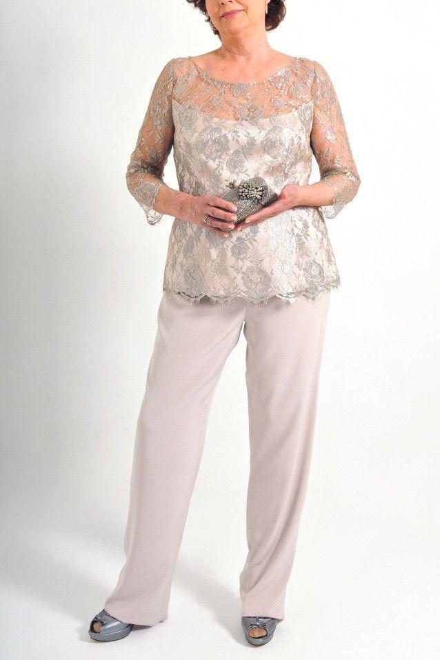 Traje-Pantalón de fiesta para madrina de Teresa Ripoll modelo 2190 by Teresa Ripoll | Boutique Clara. Tu tienda de vestidos de fiesta.