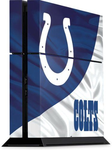 NFL - Indianapolis Colts - Indianapolis Colts - Sony Playstation 4 / PS4 (Console Only) - Skinit Skin - http://bignbastore.com/sports-outdoors/fan-shop/video-games-accessories/nfl-indianapolis-colts-indianapolis-colts-sony-playstation-4-ps4-console-only-skinit-skin-com/  Visit http://bignbastore.com to read more on this topic