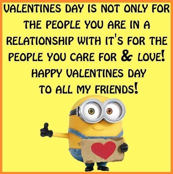 Pin By Connie Jones On I Must Be Part Minion Valentine S Day Quotes Minions Funny Birthday Wishes Greetings