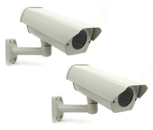 Smart Security Club Pack of 2 Outdoor Camera Housing, Heater & Fan