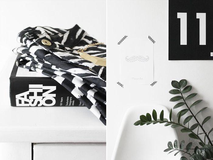 Black and white by Ma Maison Blanche, Stylizimo