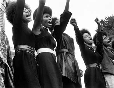Black Panthers from Sacramento, Free Huey Rally, Bobby Hutton Memorial Park, Oakland, August 25, 1968: