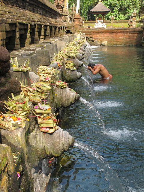 Sacred Water temple Bali.