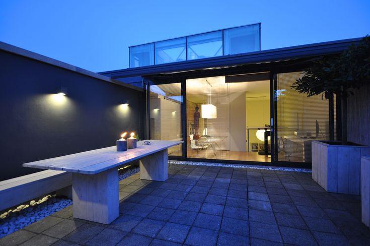 Frank Weil - sfeer dakterras - verbouwd pakhuis - natuurlijke materialen