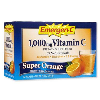 Emergen c help with sore throat