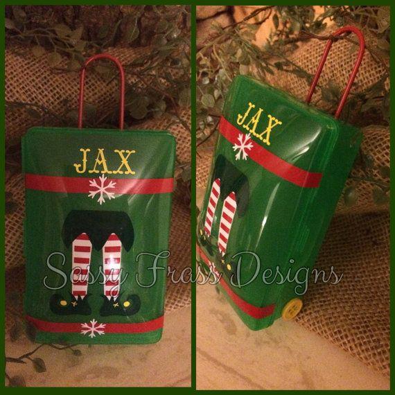 Elf On The Shelf Suitcase By Sassyfrassdesigns01 On Etsy
