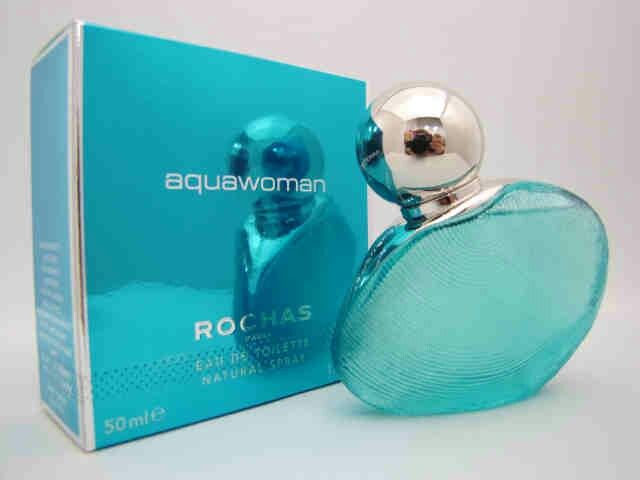 Aquawoman by Rochas!!!