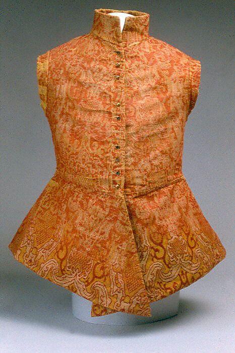 Jacket (Jerkin)  Date:early 17th century