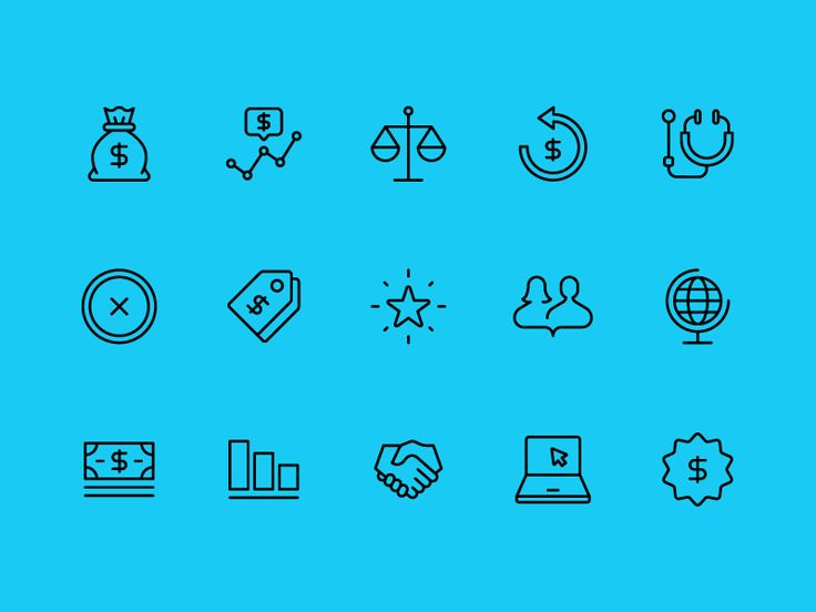 Report icons created for Burgess Group, a company focused on simplifying the business of healthcare. The icons will be used to navigate their online healthcare product.  Creative Director Kirk Alan...