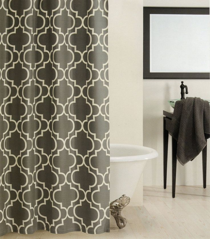 1000 Ideas About Gray Shower Curtains On Pinterest Shower Curtains Curtains And Chevron