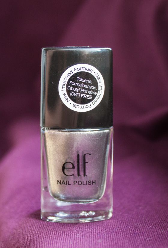E.L.F. nail polish - liquid metal