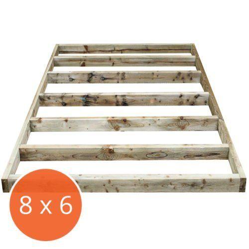 8 x 6 Portabase DIY Kit Pressure Treated Timber Shed