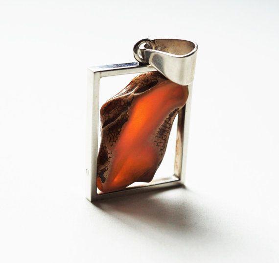 Eugeniusz Salwierz Design Amber Sterling by APPUSSTUDIOJEWELLERY