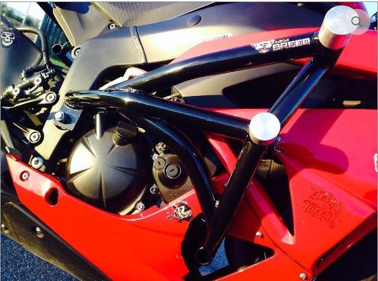 New Breed Kawasaki ZX6R 636 Crash Cage 07-15   Tacticalmindz.com