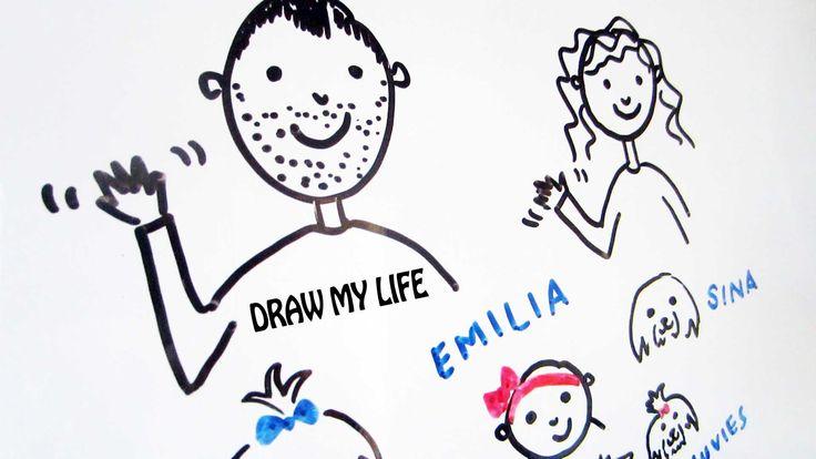 DRAW MY LIFE | SACCONEJOLYs | JONATHAN JOLY