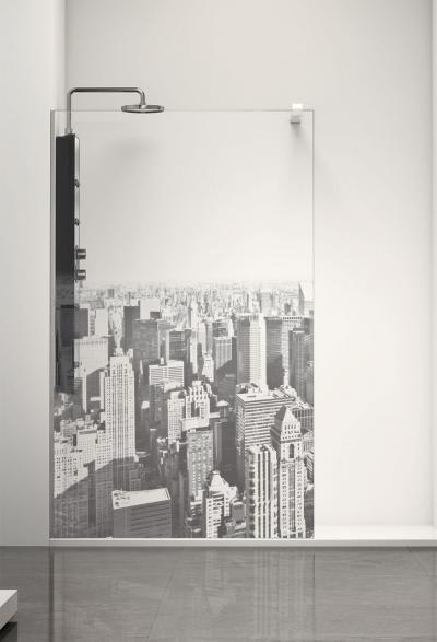Profiltek Duschwand alleinstehend Walk-In 8 mm Profiltek Belus Manhattan