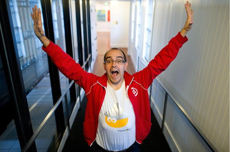 Dave McClure, founding partner of 500 Startups. (Dave McClure/Bloomberg)