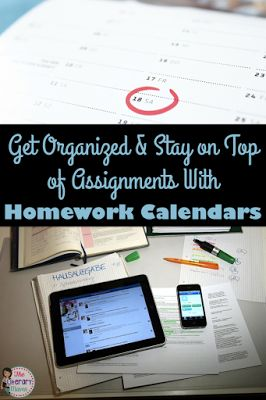 Get Organized and Stay on Top of Assignments with Homework Calendars