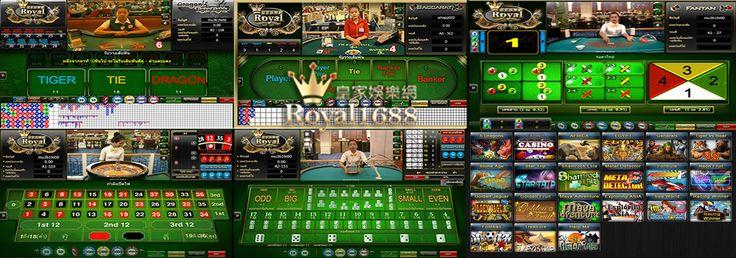 Royal1688 คาสิโน คาสิโนออนไลน์ พนันออนไลน์ ที่สมบูรณ์แบบที่สุดในขณะนี้ คือ Royal1688 รอยัล1688 จากกลุ่มรอยัล Royal1688 คาสิโนออนไลน์ สุดยอดคุณภาพ ชัดเจนทั้งภาพและเสียง โดยส่งตรงมาจาก Poipet Resort คาสิโนดังในกัมพูชา Royal1688 คือผลิตภัณฑ์ชั้นยอดจากรอยัล มีเกมส์คาสิโนมากมาย หลากหลายประเภท เช่น บาคาร่า, รูเล็ต, ไฮโล, กำถั่ว, สล็อต ท่านสามารถ สมัครเล่น Royal1688 ติดต่อได้ที่ www.4evebet.com หรือ โทร 099-008-0477 ID : 4evebet