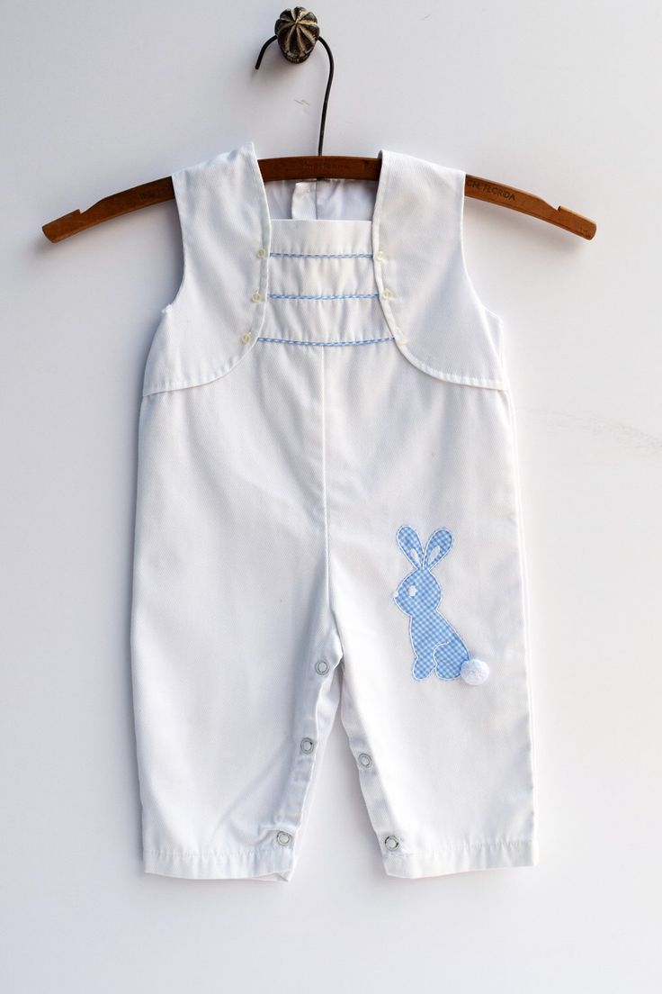 A personal favorite from my Etsy shop https://www.etsy.com/listing/269602946/baby-easter-clothes-vintage-baby-boy