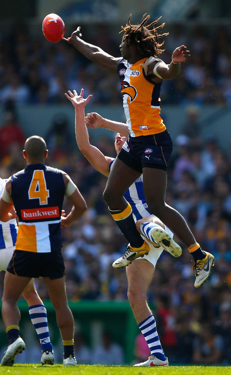 Rucks: Nic Naitanui, West Coast Eagles