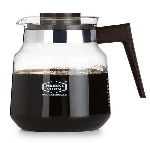 Moccamaster Glass Jug H/K/KB744 1,25 L Black