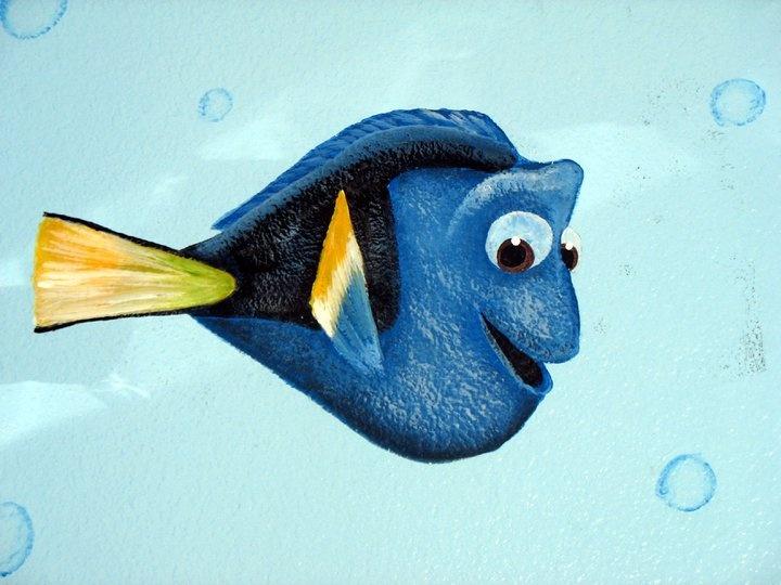7 best nemo 39 s friends images on pinterest finding nemo for Dora wall mural
