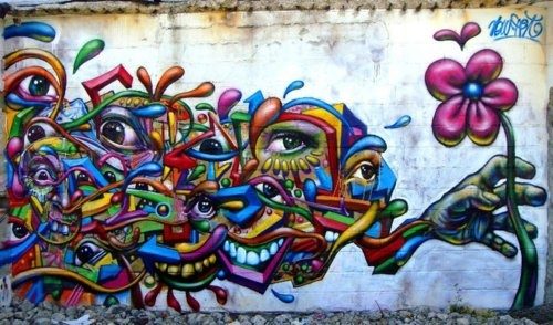 Artist unknown! Please re-pin! This piece of fine street art is by an unknown artist, hopefully they will see this and shout about it. I pinned this from a good friend of mine Niki Brown a specialist in social media who engages her audience with great humour...