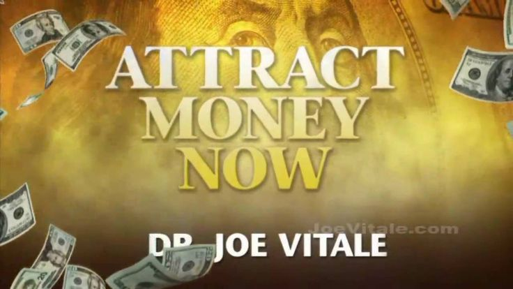 Joe Vitale TV Show Attract Money Now