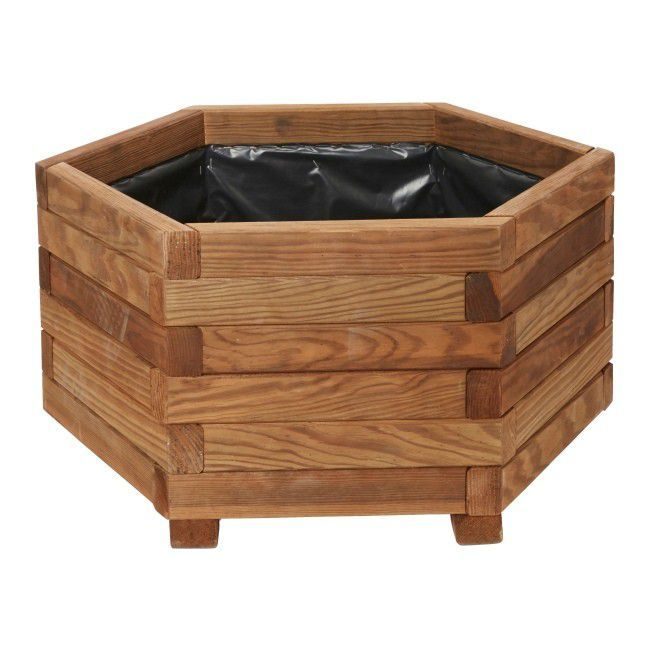 Donica Drewniana Verve 60 Cm Donice Zewnetrzne Wooden Planters Wooden Outdoor Furniture Diy Planters