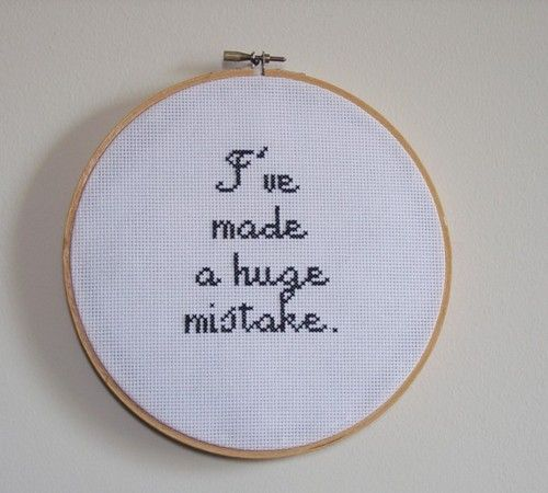 quote cross   by FunWithNeedles  (via mememolly.)