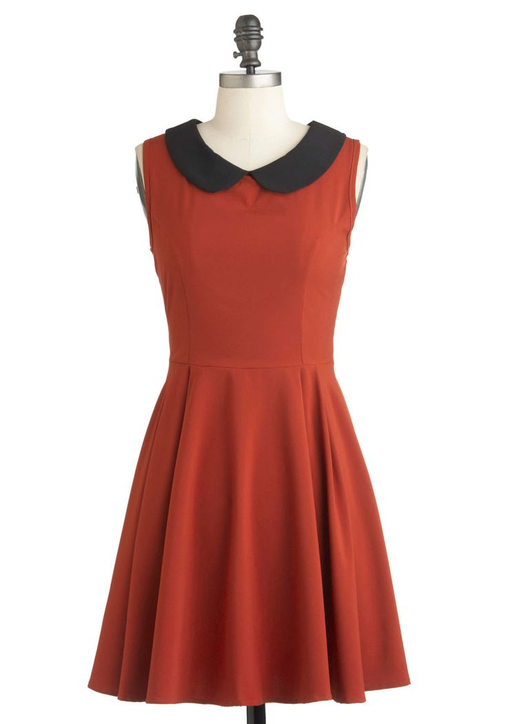 Fireside Glow Dress - Modcloth