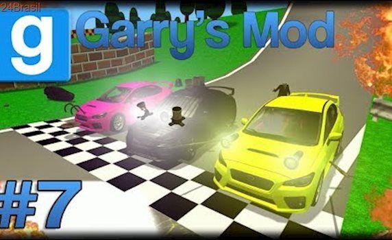Jogando Garry's Mod da Zueira - Ep 7 - Gnomos for Speed UNDERGROUND!