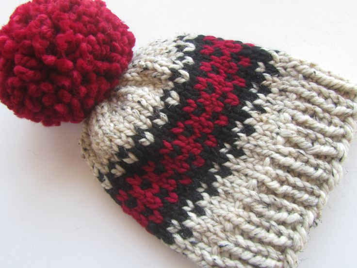 87 best Knit Hats images on Pinterest   Chunky knits, Photo boxes ...