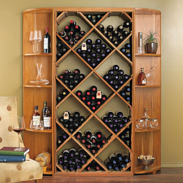 17 Best Ideas About Wine Rack Cabinet On Pinterest