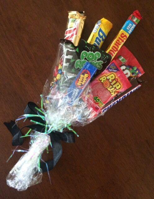 más y más manualidades: Cómo hacer un ramo de dulces