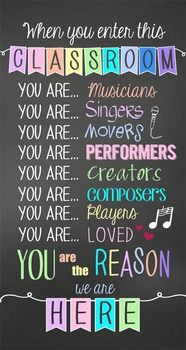 25+ best Music Classroom Posters ideas on Pinterest | Music class ...