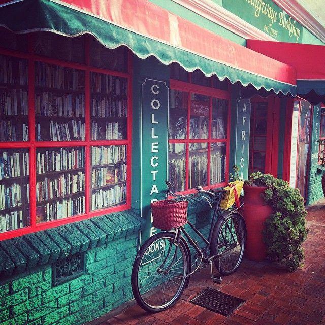 But First Lemme grab a #bookshop #Hermanus #vintage #photography #bicycle #creative #Explore