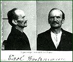 Carl Friedrich Wilhelm Großmann, who commonly called himself just Carl Großmann (13 December 1863 – 5 July 1922), was a German serial killer. He committed suicide while awaiting execution without giving a full confession leaving the extent of his crimes and motives largely unknown.    Carl Großmann was convicted of murder and was sentenced to death. Before his sentence could be carried out, he hanged himself in his own cell.