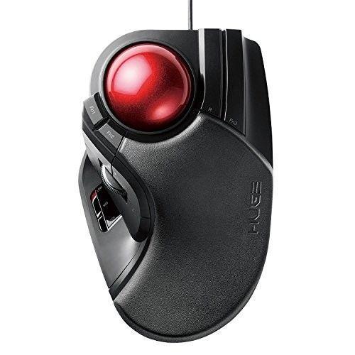 Wired Trackball Mouse Optical Ergonomic 8 Button Laptop Desktop Adjustable DPI #ComputerAccessories