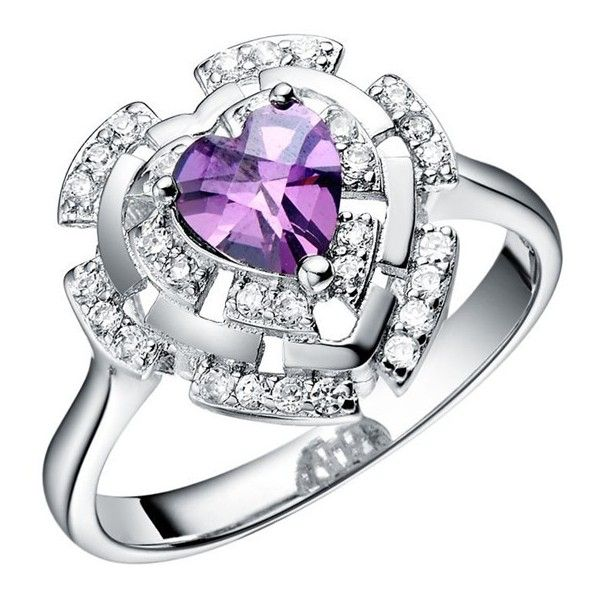 purple-engagement-rings-13 inspirations of cardiff ❤ liked on Polyvore featuring jewelry, rings, engagement rings, purple ring, purple jewellery, purple jewelry and purple engagement rings