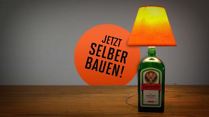 Jägermeister DIY Lampe