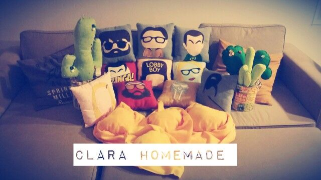 Pillows #clarahomemade
